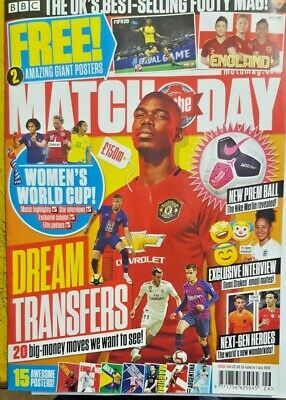Match Of The Day Magazine 25 June - 1 July 2019 # 560 = Free 2 Giant Posters