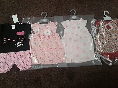 Bundle of baby girls clothes size 9-12 months BNWT