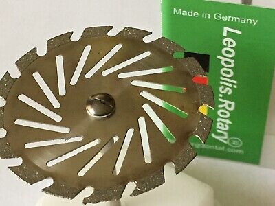 Diamond Grinding Disc ( Perforated , 40.0mm / 0.30mm Universal Saw Cut )✅