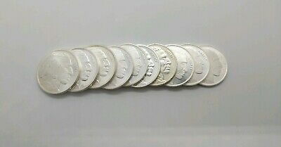 Lot of 10 - 1oz .999 Silver Indian Buffalo Rounds with Free Shipping!