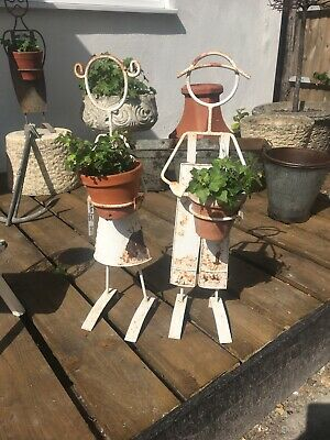 French Iron Plant Stands Pair!
