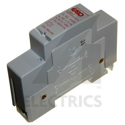 Load Shedding Relay 6.7A - 39A Normaly Open Heater Relay DIN Rail Garo LSR11