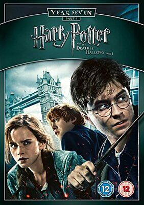 Harry Potter And The Deathly Hallows - Part 1 DVD (2011) Daniel Radcliffe