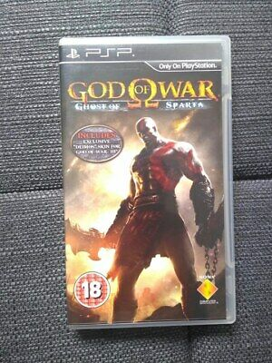 God of War: Ghost of Sparta & Chains of Olympus Lot *COMPLETE* // PSP