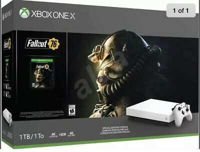 Microsoft Xbox One X 1TB Console with Fallout 76 Bundle - Black