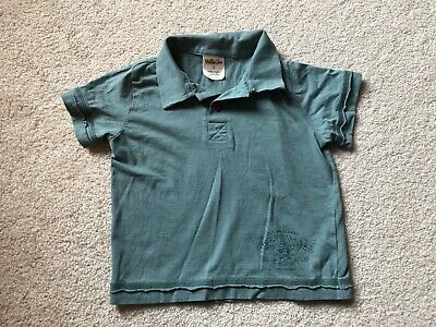 Matilda Jane Boy's Green Polo Shirt - Size 2T