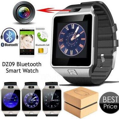 DZ09 Bluetooth Smart Watch Camera Phone GSM For Samsung, Android & Iphone