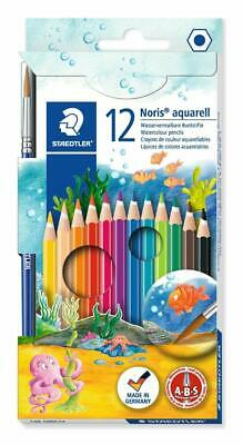 Staedtler Noris Club Aquarell Watercolour Pencils Plus Paint Brush