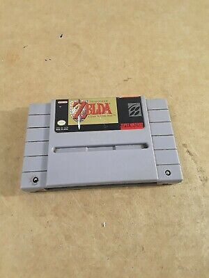 The Legend of Zelda: A Link to the Past - Super Nintendo SNES AUTHENTIC Tested