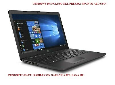 Notebook Nuovo Pc Portatile Hp 6Hm00Ea 255 G7 Amd 4Gb Ram 500Gb Windows 10 Pro