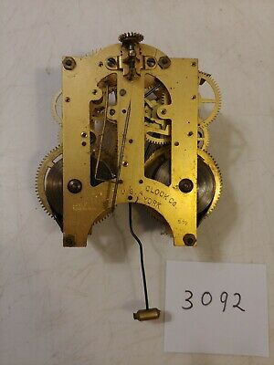 Ansonia Iron Case Mantle Clock Movement