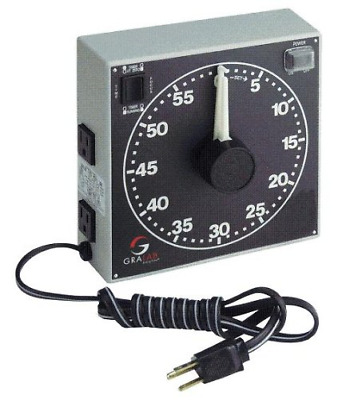 """GraLab Model 300,  60 Minute Photography and Darkroom Timer, 7-1/2"""" Length x x"""