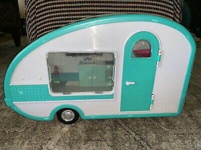 "Lori By Battat Camper Our Generation Doll  Interior Lights Up Works for 12"" Doll"