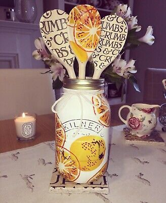 Emma Bridgewater Themed Kilner/Mason Jar & Utensils  - Marmalade & Black Toast