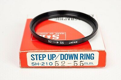 S&K Stepping ring- Step up 52-55mm