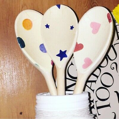 Emma Bridgewater Themed Set Of 3 Utensils - Polka Dot, Starry Skies & Polka Dot