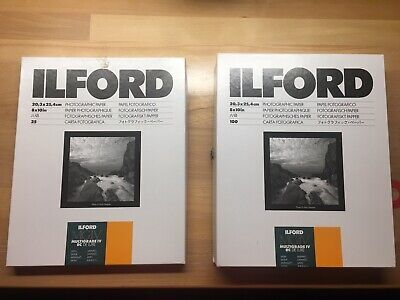 ILFORD MULTIGRADE IV RC DE LUXE SATIN 8x10