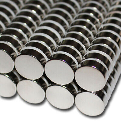 D4C6 Neodymium Magnetic Stone Magnets Round Super Silver 5*30mm Toy