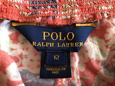 RALPH LAUREN POLO GIRLS TROUSERS AGE 12 Years