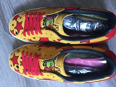 new styles c8e76 22d8d NEW Puma Clyde Bode Vaughn 8US Cheech Wizard 5o years anniversary Red Yellow