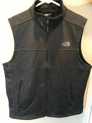The North Face Men's Large Canyonwall Full Zip Vest-Charcoal grey-NWOT!