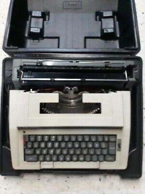 Smith Corona Electra XT Model 3L Portable Electric Typewriter w/ Case Tested