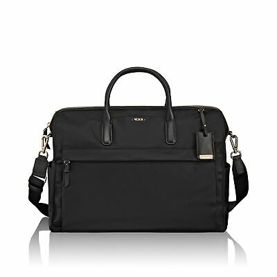 New TUMI Voyageur Dara Carry-All Weekend Carry On Tote Black