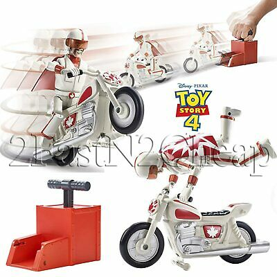 Disney Pixar Toy Story 4 Stunt Racer Duke Caboom New Movie Release Toy Story 4