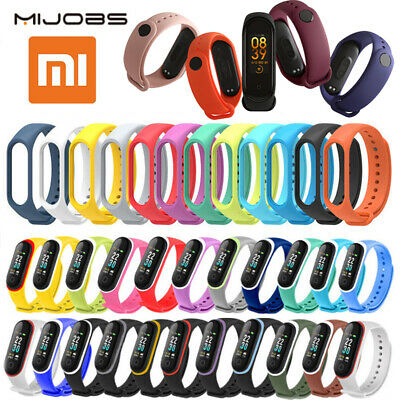 Xiaomi Mi Band 2 3 4 Adjustable Bangle Soft Silicone Strap Wristband Bracelet AU