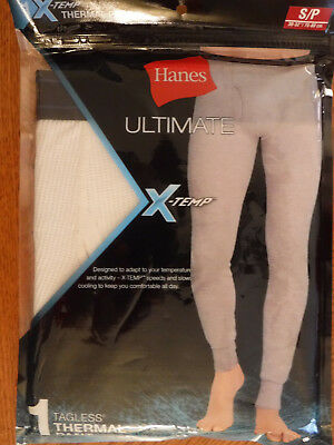 11 Eur X Temp Pant Womens 75 Thermal Hanes White Small New K13TFJcul