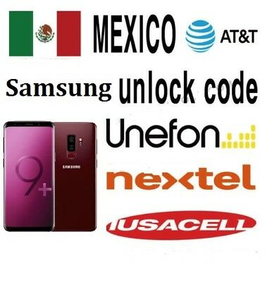 Mexico ATT Unefon Nextel Iusacell Unlock for All Samsung  (Super Express)
