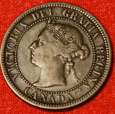 1882 Canada Large Cent Penny Great Collector Coin Gift Ca31