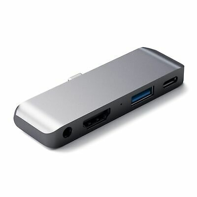 Satechi SATECHI USB-C Mobile Pro Hub - Space Grey