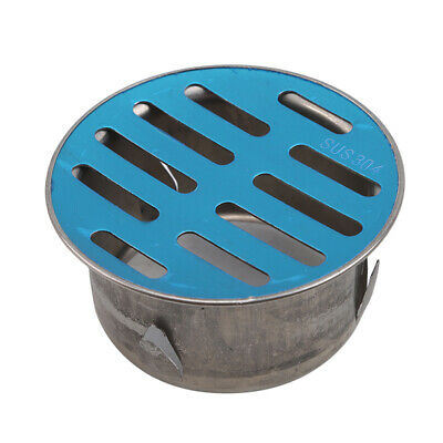 Floor Drain Plug-In Ceiling Round Balcony Stainless Steel Outdoor Drainage ONE