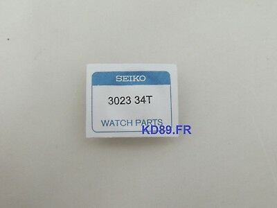 seiko capacitor Solar kinetic watch for V172 V174 V175 Series 3023 34T SSC001