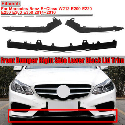 for Mercedes W212 E350 2014-2016 Front Bumper Left Hand Chrome Trim Molding