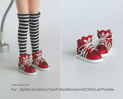 Sports boots shoes /_ WHITE for Blythe//DAL//Pullip//Momoko//AZONE