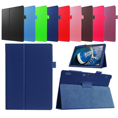 """Leather Case Tablet Cover For Lenovo Tab 2 3 4 8.0"""" 10.1"""" TB-X304F/N TB3-X70F/N."""