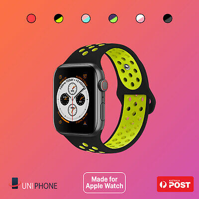 【Premium】Sport Silicone Bracelet Strap Band For Apple Watch iWatch 38 40 42 44mm