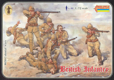 Strelets 038 - 1/72 British Infantry (1898-1902) (re-issue), scale model kit