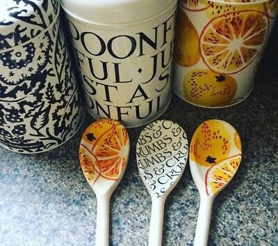 Emma Bridgewater Themed Set Of 3 Utensils - Black Toast & Marmalade