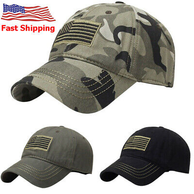 5f6004dd2 THE HAT DEPOT Camouflage American Flag Embroidered Cap - $12.99 ...