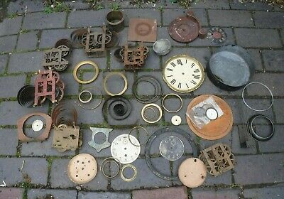 Vintage Clock Parts- Grandfather/ Grandmother (448N)