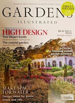 Gardens Illustrated Magazine July 2019 # 275 =Design Ideas For Pools Bowls Rills