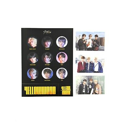 [STRAY KIDS]Cle 2:Yellow Wood/Side Effects/Limited ver./Photocard Set B+ Sticker
