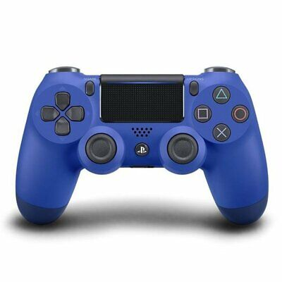 Sony PlayStation 4 DualShock Controller V2 (2016) blau Wireless Bluetooth