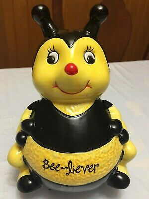 Mary Kay Ceramic Bee-Liever Bank  Rare Vintage Collectible