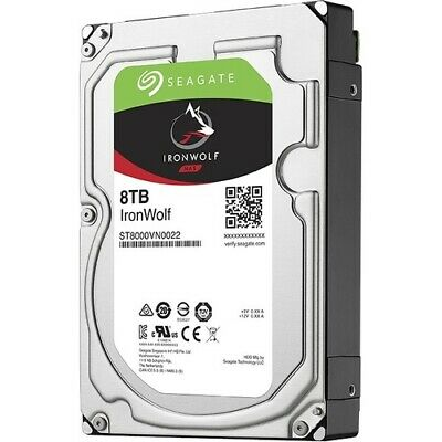 NEW ST8000VN0022 IronWolf Hard Drive 8 TB 8TB Seagate SINGLE PK ST8000VN0022SP