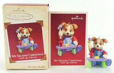 HALLMARK - BABY'S First Christmas - Child's Age Collection