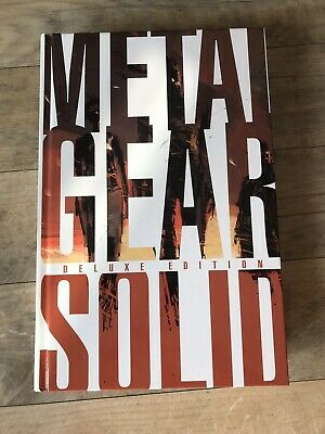Official Metal Gear Solid Deluxe Edition Hardback Art Book